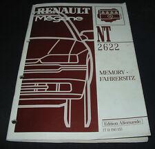 Werkstatthandbuch Renault Megane Typ BA Memory Fahrersitz Stand 1996