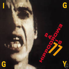 IGGY POP IN LIVE : HIPPODROME PARIS 77-CD VINYL REPLICA