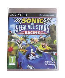 Sonic & Sega All-Stars Racing (Sony PlayStation 3, 2010) Same Day Postage