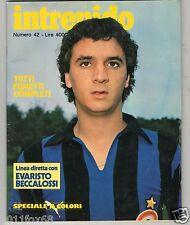 intrepido 1978 n. 42 Evaristo Beccalossi inter Maldera Dirceu Gimondi Moser Alì