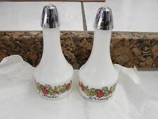 Gemco Cruet Set Oil &Vinegar Spice of Life L'Huile & Le Vinaigre Corning wear