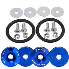 Blue Quick Release Fasteners Fastener For Car Bumper Trunk Fender Hatch Lids Kit
