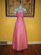 NWT  Cache Pink Gown Size 0