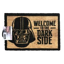 STAR WARS 'WELCOME TO THE DARK SIDE' COIR DOOR MAT - OFFICIAL LICENSED **NEW**