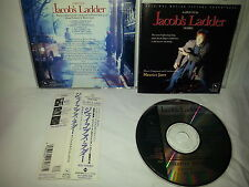 JACOB'S LADDER Soundtrack CD JAPAN 1ST PRESS Maurice Jarre SLCS-7037 w OBI s2243