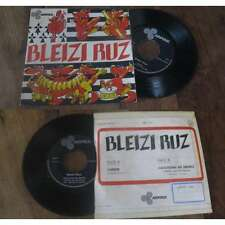 BLEIZI RUZ - Laride French PS 7' Celtic Folk Rock Arfolk 1974