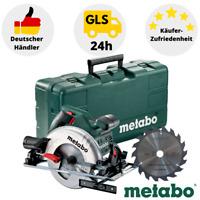 Metabo Handkreissäge KS 55 Set Kunststoffkoffer 1200 W Robuste Handkreissäge