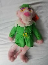 LARGE  PINK PANTHER CAT  STUFFED PLUSH DOLL NWT RARE!