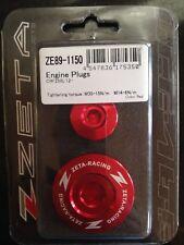 Honda CRF 250 L CRF 250 M 2012-2017 Zeta Motor Enchufes Conjunto Rojo