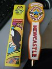 NOVO BRAZIL and NEWCASTLE BEER TAP HANDLE RARE LOT OF 2