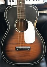 Silvertone 604 acoustic vintage guitar parlour Chicago USA blues Harmony
