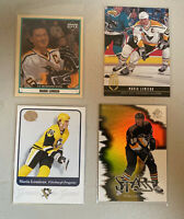 NHL Hockey Mario Lemieux (4 Card Lot - Upper Deck/Fleer)) 1993-2003