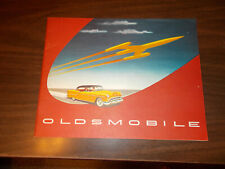 1954 Oldsmobile CANADIAN 32-page Deluxe Sales Catalog