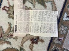 M12b ephemera 1969 article film review play dirty