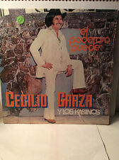 CECILIO GARZA Y Los Kasinos 'El Poderoso Puede' Like New LP
