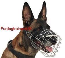 Belgian Malinois Muzzle UK Bestseller | Basket Dog Muzzle for Malinois for Sale