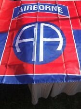 Brand New Air Borne Flag In The Colors Of Red And Blue