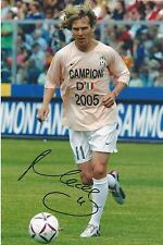 Pavel Nedved signed Juventus Image H 12x8 photo UACC Registered dealer COA