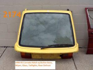 Rear Hatch Active Aero Glass Corrado VW 535827025 C