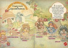 X0515 Cherry Merry Muffin - Mattel - Pubblicità del 1990 - Vintage Advertising
