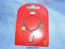 Me To You Tatty Teddy Christmas Enamel Bracelet Bear G01Q0747 Gift Present New