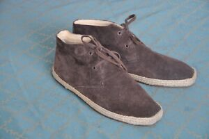 Armani Jeans mens Brown Suede Desert Boots shoes size 43