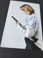 SABINE MEYER  German clarinetist in-person 2016 signed autograph 8x12