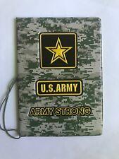 Passport Etui U.S.Army 3D Passport Case REISEPASSHÜLLE Kunstleder 14*10cm Neu
