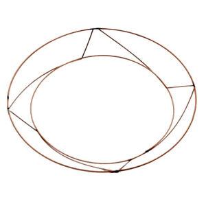 Raised Wire Wreath Frames - Xmas Wreaths 8, 10 & 12 inch Each, Pk of 10 or 20