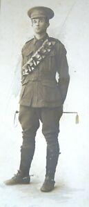 A WWI Soldier Portrait by  The Swiss Studios  387 George Street  Sydney