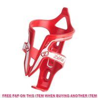 RED ZEFAL PULSE BIKE FIBRE GLASS WATER BOTTLE CAGE BICYCLE BOTTLE CAGE HOLDER