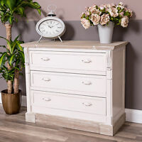 Cream Chest Of Drawers Country Bedroom Furniture Shabby French Vintage Chic Home