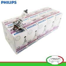 STOCK 10 LAMPADINE PHILIPS H7 12 V 55 W PX26d FARI AUTO MOTO - 12972CDC1