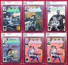 Punisher LTD Series (Marvel 1986) #1-5 PGX (not CGC) 9.2 - 9.8 + Bonus Many SS !