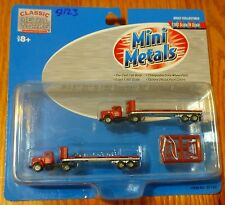 Classic Metal Works #51123 R-190 Tractor w/32' Flat-Bed Trailer P-I-E