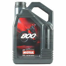 Motul 800 2T Factory Line Off Road 2 Stroke Motorcycle Engine Oil 4 Litre 4L