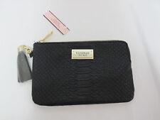NWT Victoria's Secret Black Tassel Python Wallet Clutch - NO Strap *FREE SHIP*
