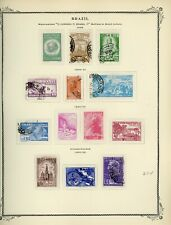 BRAZIL Scott Specialty Album Page Lot #32 - SEE SCAN - $$$