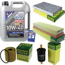 Inspection Kit Filter Liqui Moly Oil 5L 10W-40 for Peugeot 307 3A/C 1.4 16V