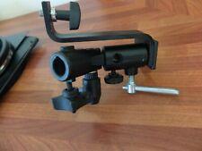 Multi position light stand/tripod accessory attachment