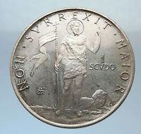 1968 Order of Malta Like Knights Templar Grandmaster MOJANA Silver Coin i71386