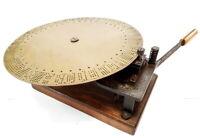 Antigua maquina de escribir DESCONOCIDA very rare UNKNOW typewriter XIX century