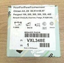 Peugeot, Citroen, Renault Front Brake Pad Kit - VXL348E **Genuine New Part**
