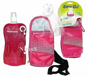 Sip N Go Sport Pack Water Bottle Insulated With Shoulder-Hand Carry Case  (T)