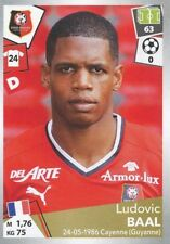 392 LUDOVIC BAAL STADE RENNAIS FC - LE MAN.FC  STICKER PANINI FOOT 2018
