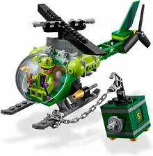 Lego DC Riddler's Helicopter, Safe AND figure ONLY from 76120 with instructions