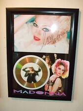 MADONNA   SIGNED  GOLD CD  DISC  915