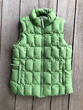 Gap  Down  Puffer Vest  Size S  Green  RN 54023
