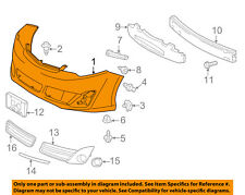 TOYOTA OEM 12-14 Camry-Bumper Cover 5211906975