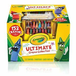Crayola ULTIMATE CRAYON COLLECTION Coloring Set Kids Art Pack (152 Crayons!)